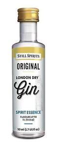 Still Spirits Original LONDON DRY GIN - 50ml Essence 9421004730082