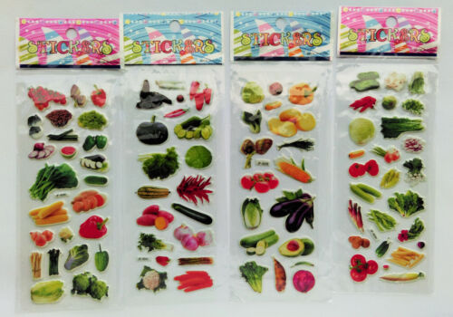 3-50 frutas verduras Sticker Adhesivo mermelada confitura cocina niños Label