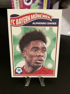 2020-Topps-Living-Set-Alphonso-Davies-Rookie-Card-Limited-To-3217-Rated-Rookie
