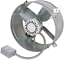 Cool Attic Ventilator Power Gable Mount Fan Air