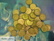 // Lote 30 monedas de 50 peseta pesetas franco y rey \