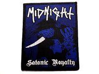 Midnight Satanic Royalty Woven Patch