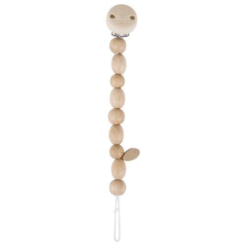 Heimess NATURE Schnullerkette aus Holz Baby verschiedene Motive
