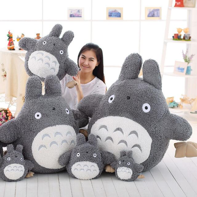 My Neighbor Totoro Pillow Anime Movie Cartoon Soft Plush Dolls Toys Gift Stuffed