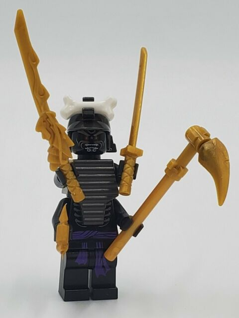Lego Ninjago Lord Garmadon Minifigure  Brand New Sealed Blister Pack /& 4 Katanas