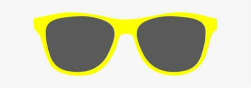 Yellow /& Grey Lenses COOL CLIPS for Adults and Children,Clip on Sunglasses