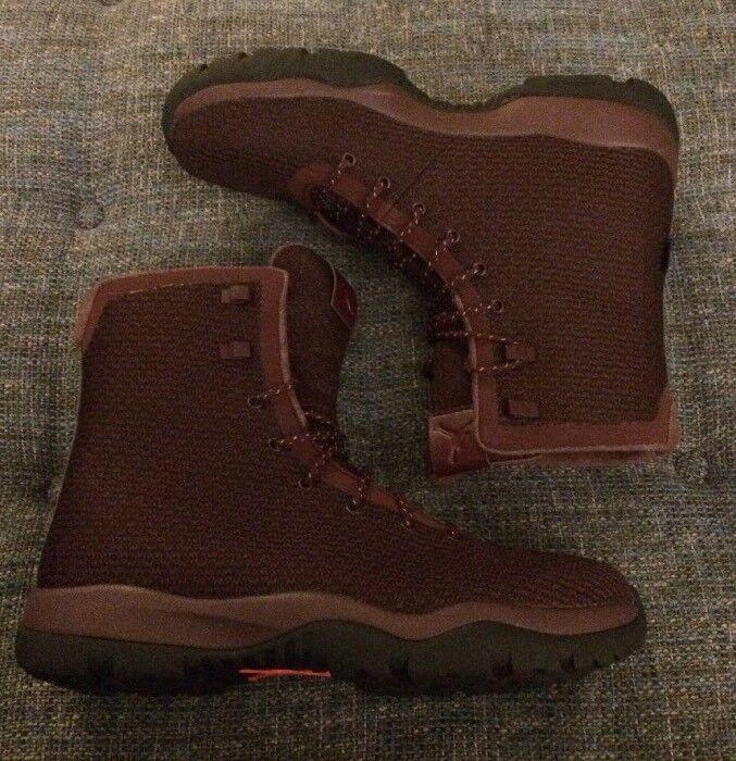 Nwob Mens Jordan Future Waterproof Classic Boots Maroon 854554 Men's Size 13