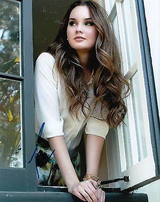 Photographs Liana Liberato Signed *if I Stay* Movie 8x10 Photo Autographed Kim W/coa #2
