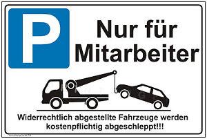 Consciencieux Schild Parkverbot Parkplatz Warnschild Parkverbotsschild Parken Verboten P26+ Grand Assortiment