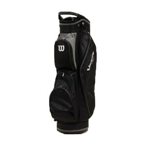 Wilson WGB4710GY Velocity HDX Cart Bag w/ Shoulder Strap & 8 Dividers, Gray