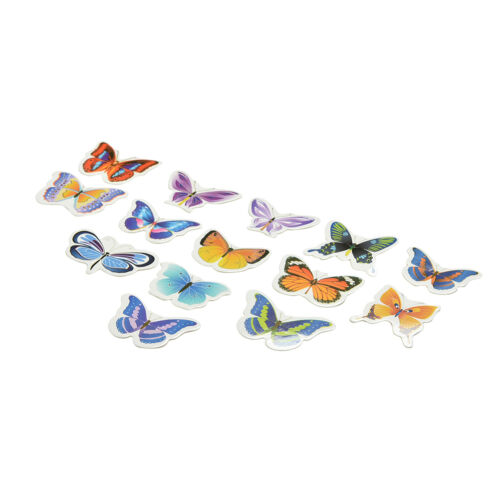 50x Butterflies Wedding Birthday Wafer Paper Cupcake Cake Toppers  ZY