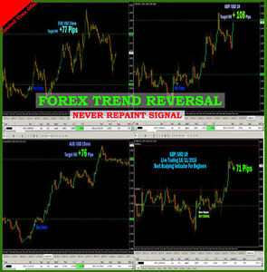 Details about Forex Indicator Forex Trading System Best mt4 TREND REVERSAL  SIGNAL+ONE DAY SHIP