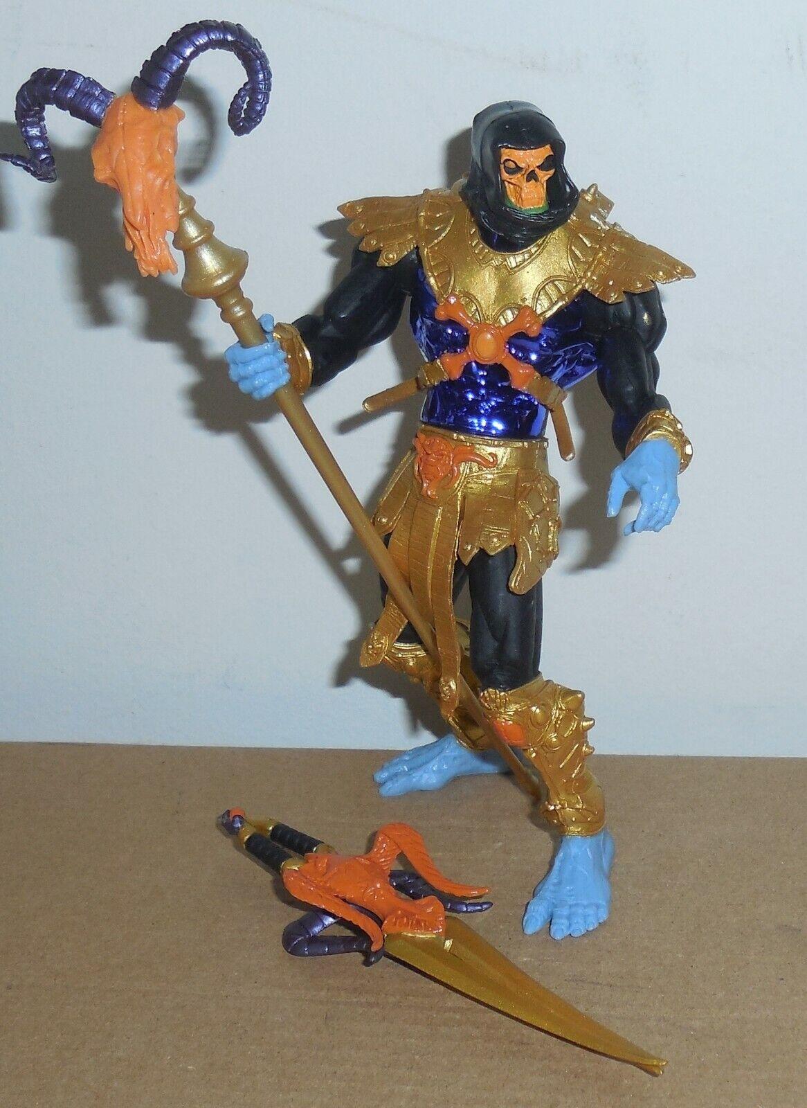 Motu Gold Discoteca Skeletor Completo 2002 200x Masters Of The Universe He-Man