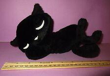 Emily the Strange Plush Black Kitty Cat Stuffed Animal Sleeping Rare HTF