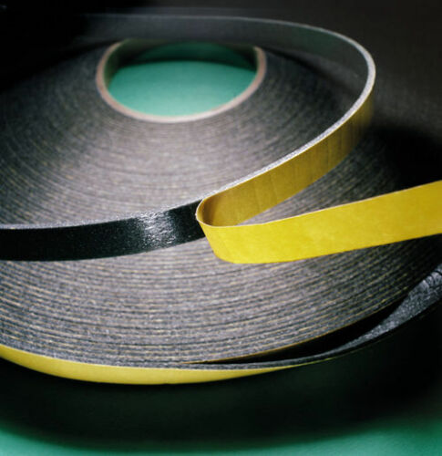 20m Black or White 3mm x 15mm Security Glazing Tape
