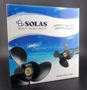 Details about Solas Saturn 3 Propeller for SUZUKI & JOHNSON Outboard  4231-100-15 3X10X15