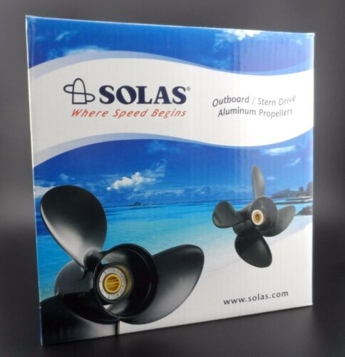 Solas Amita 3 Propeller for TOHATSU//YAMAHA Outboard 3411-135-15 3X13 1//2X15