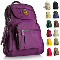 New Mini Lightweight Fabric Backpack Rucksack School Work Travel Gym College Bag