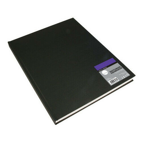 Sketchbook Hardbound 65 LB 110 Sheets 4 sizes same as Daler Rowney Simply HB