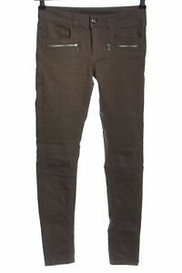 H-amp-M-DIVIDED-Jeans-skinny-brun-style-decontracte-Dames-T-38