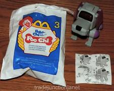 """2001 McDONALDS HAPPY MEAL TOY ROBO-CHI PETS #3 """"POO-CHI"""" INTERACTIVE FIGURINE"""
