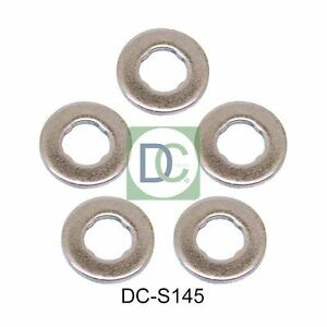 Seals Pack of 5 Volvo S80 II 2.4 D Common Rail Diesel Fuel Injector Washers