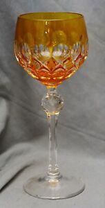 Bicchiere di vino romani, BLEIKRISTALL, giallo tramite Snap