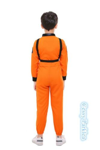 Astronaut Nasa Spaceman Kids Fancy Dress Child Boys Book Week Costume Outfit