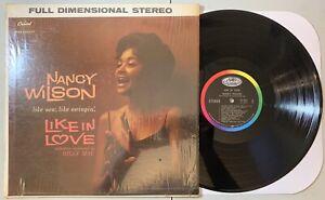 Nancy-Wilson-Like-In-Love-LP-Capitol-ST-1319-Jazz-VG-VG-Shrink