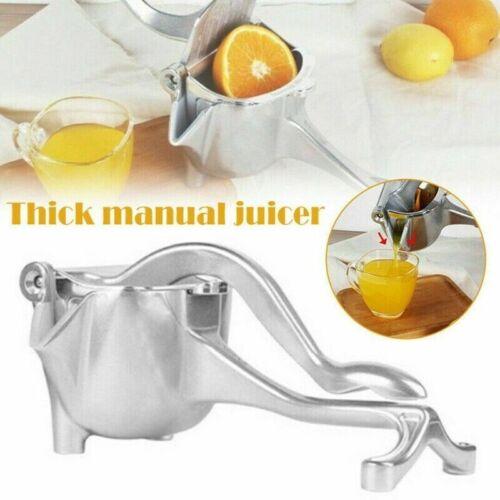 Juice Fruit Manual Press Maker Extractor Machine Squeezer Orange Home Juicer US