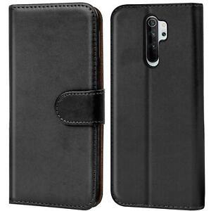 Book-Case-fuer-Xiaomi-Redmi-Note-8-Pro-Huelle-Tasche-Flip-Cover-Handy-Schutz-Huelle
