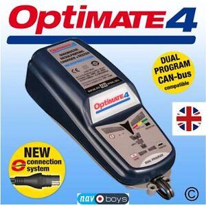 OPTIMATE-4-doble-cargador-de-ahorro-de-bateria-12V-de-programa-probador-y-mantenedor-Nuevo-Fd