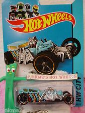 Case B/C 2014 Hot Wheels STREET CREEPER #80 US Team☆Turquoise BLUE☆Fright Cars