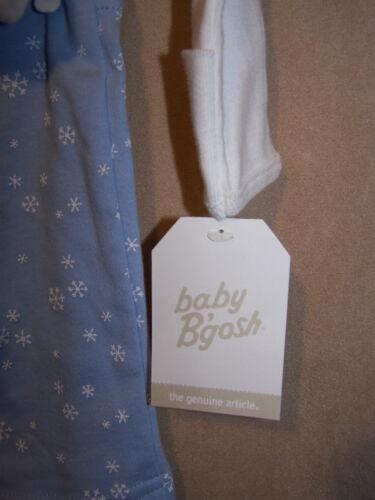 NWT Infant Boys Girls OshKosh 2pc I LOVE SANTA outfit  5-8 lbs Preemie Snowflake