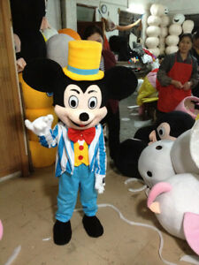 Image is loading Halloween-Kids-dress-Mickey-Mouse-Mascot-Costume-Birthday- & Halloween Kids dress Mickey Mouse Mascot Costume Birthday Party ...