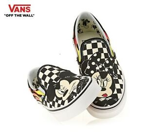 de Mickey Slip zapatos Vn0a38f7uj4 de Mouse on Classic moda Vans Disney zapatillas E1qwx780H