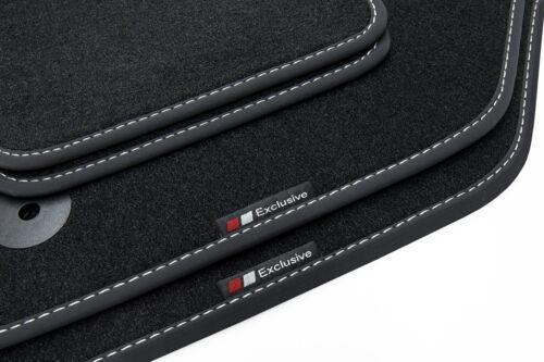2003-2010 Exclusive-line Design Fußmatten für VW Touareg 1 I 7L Bj