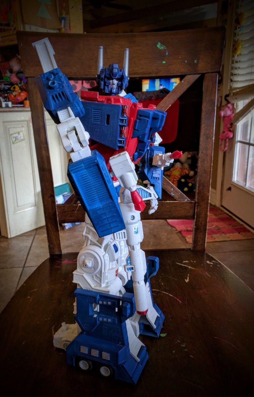 Obtén lo ultimo Personalizado Transformers-Personalizado Construido y pintado pintado pintado Ultra Magnus A 16 pulgadas  elige tu favorito