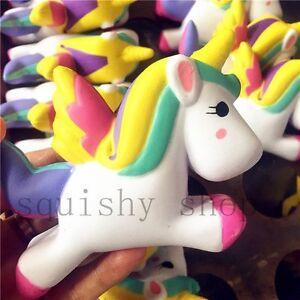 Kawaii Unicorn Squishy Slow Rising Cartoon Doll 12CM Press Animal Collection Toy eBay