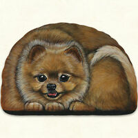 Fiddlers Elbow Pomeranian Dog Pupper Weight Paperweight Decoration Made In Usa