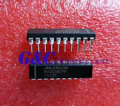 IC MAXIM MAX038CPP IC GEN WAVEFORM HI-FREQ 20-DIP NEW GOOD QUALITY D23