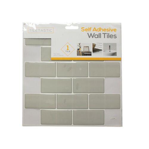 PVC Self Adhesive Tile Tastic Sticker kitchen,Bathroom Wall Tile DIY Home Decor