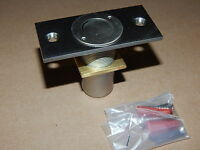 2 Crl Brushed Nickel Dust Proof Keeper Plates Non-locking Amr208bn