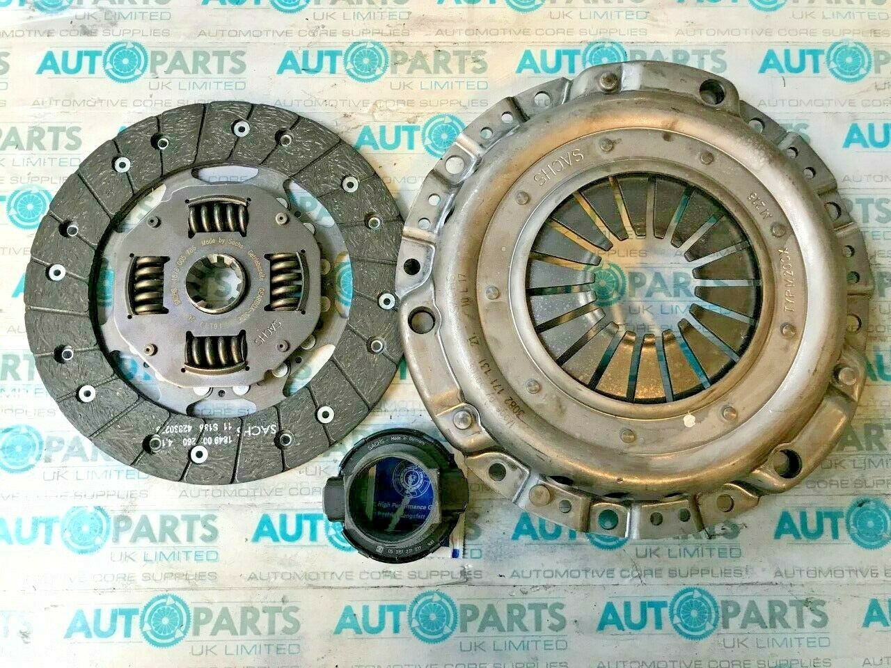 622066200 LuK 1223218 1223570 21211223218 Cover+Plate+Releaser Clutch Kit 3pc
