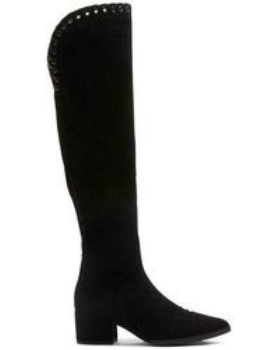 Donald Pliner Frieda Womens Knee High Whip Stitch Suede Boots Size 37