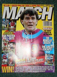 Match Football Magazine 20th March 1993 - BRISTOL, Bristol, United Kingdom - Match Football Magazine 20th March 1993 - BRISTOL, Bristol, United Kingdom