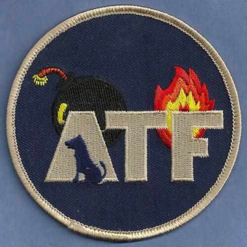 ATF EXPLOSIVES DETECTION K-9 UNIT POLICE SHOULDER PATCH