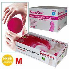 1000 Powder Free Vinyl gloves Foodservice Grade (Non Latex Nitrile Exam) -Medium