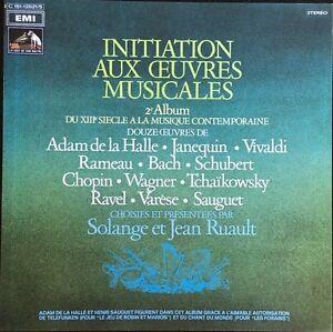 Initiation-Aux-Oeuvres-Musicales-Vol-2-Coffret-5-Vinyles-LP-33T-Tres-Rare