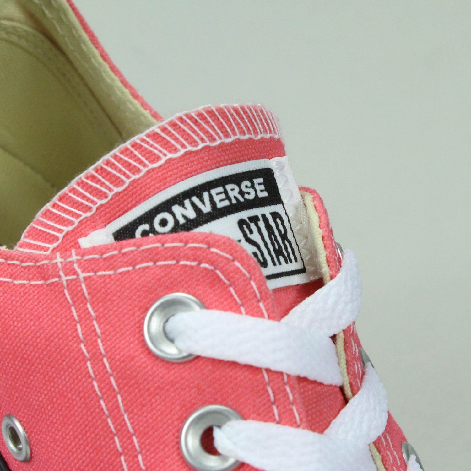 Converse All Star Ox Low Coral Shoes Trainers New in Coral Low Size UK size 4,5,6,7,8,9 52f7d6
